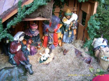 Krippe auf dem Weihnachtsmarkt - Weihnachtsmarkt Dortmund