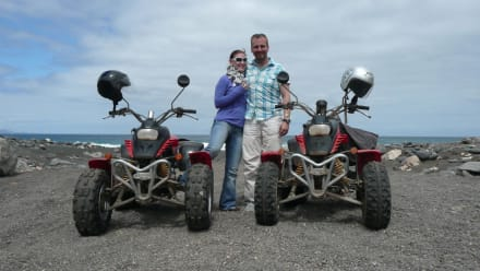 Nicki und Finn - Quad Tour Motor Adventure Tours Tarajalejo