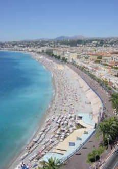 Cote d'Azur - Strand Nizza