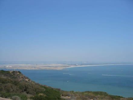Blick über die San Diego Bucht - Point Loma