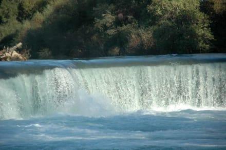 der Manavgat Wasserfall - Manavgat Wasserfälle