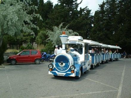 Mini-Train zum Asklepieion - Bimmelbahn