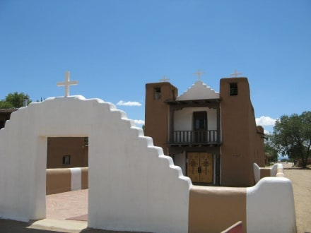 San Geronimo Church im Taos Pueblo - Taos Pueblo