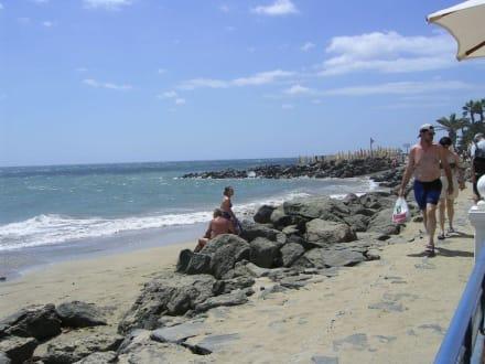 Weg zum Leuchtturm - Strand Maspalomas
