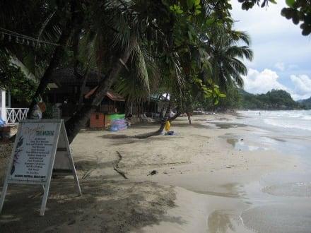 Strand bei Flut in Richtung Süden - Strand White Sand Beach