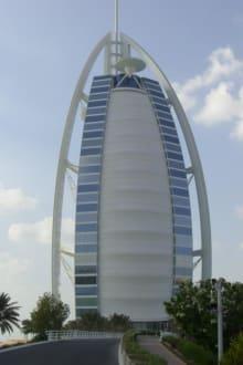 7 Sterne Hotel Burj Al Arab Bild Burj Al Arab In Dubai