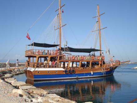Ausflugs-Boot Calypso VIP - Bootstour Calypso Colakli