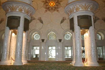 Grand Mosq - Scheich Zayed Grand Moschee