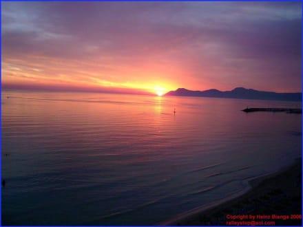 Sonnenuntergang auf Mallorca - Strand Can Picafort