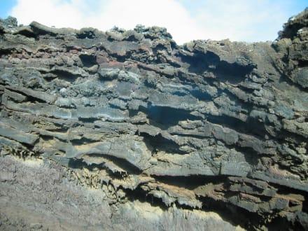 Lavaschichten - Nationalpark Timanfaya (Feuerberge)