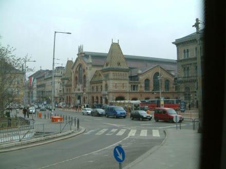 Blick auf Markthalle - Markthallen