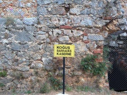 Kaserne - Burg von Alanya  (Ic Kale)