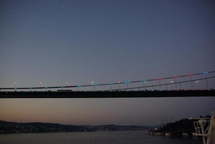6Tag Durchfahrt durch den Bosporus - Bosporus Fahrt