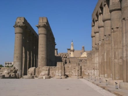 Luxor-Tempel - Tempel der Hatschepsut