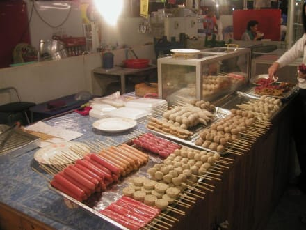 Kulinarisches - Nachtmarkt Udonthani