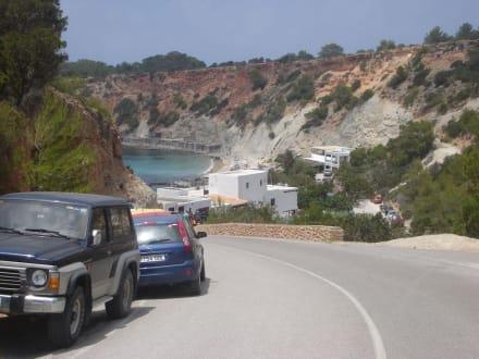 Zufahrtstrasse - Strand Cala d'Hort