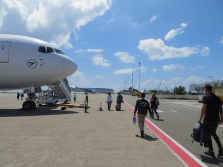 Es geht wieder nach Hause - Flughafen Malé (MLE)