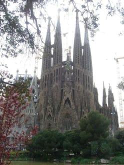 Tempel/Kirche/Grabmal - Sagrada Familia