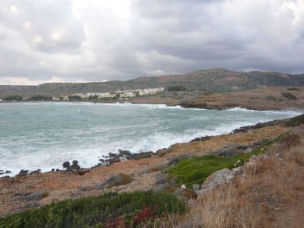 """auf dem Weg zum """"Bufos Beach"""" - Strand Sissi"""