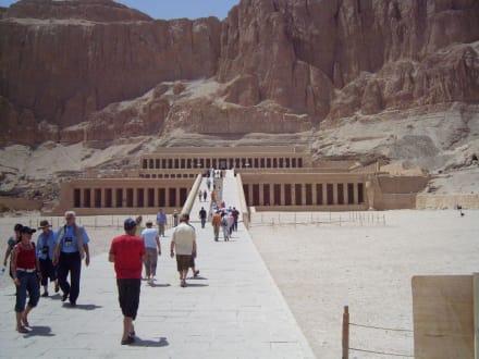 Hatschepsut -Tempel - Tempel der Hatschepsut