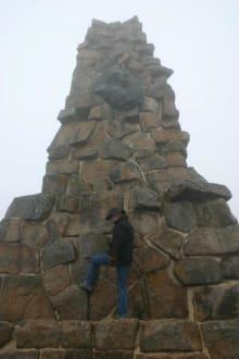 Der Bismarckturm auf dem Feldberg - Feldberg