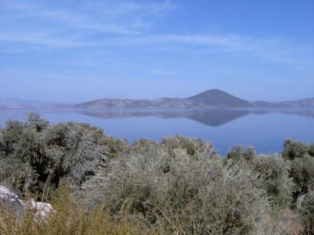 Bafasee oder Camici Gölu - Bafa Gölü