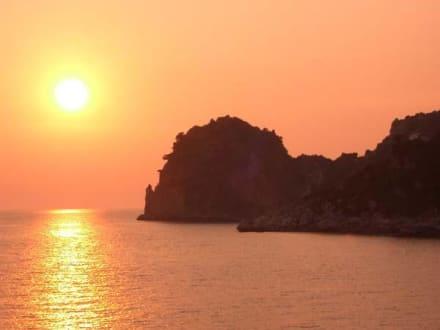Sonnenuntergang - Ermones Beach