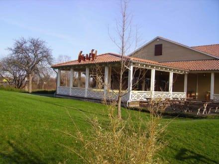 Die Terrasse des Restaurants - Restaurant Cafe Del Sol