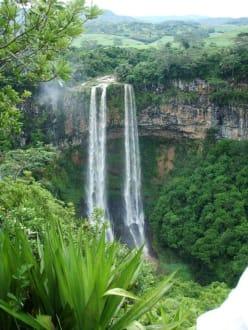 Chamarel Water Falls - Chamarel-Wasserfall