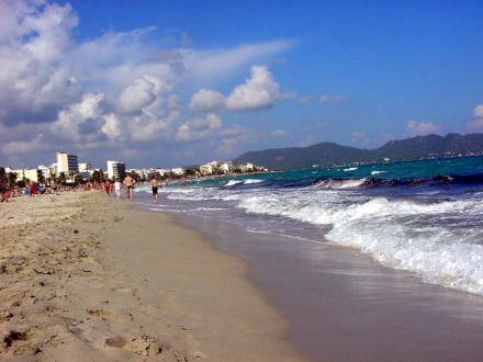 Strand und Meer - Strand Cala Millor