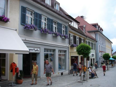 Fußgängerzone - Altstadt Murnau am Staffelsee