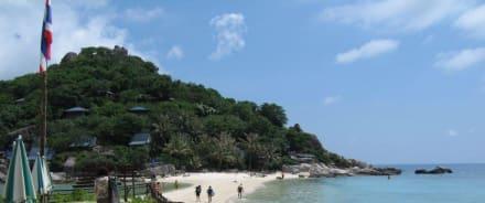 Strans Koh Nangyuan - Insel Koh Nangyuan / Koh Nang Yuan