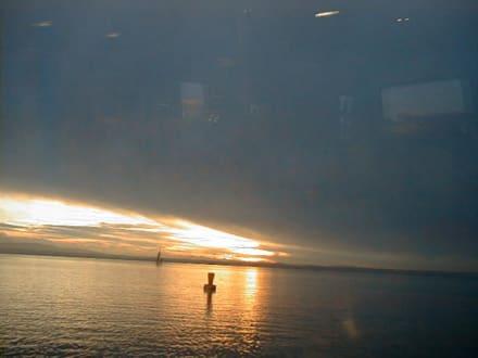 Abendstimmung auf dem Bodensee - Bodensee