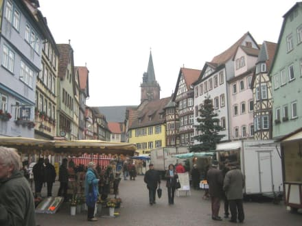 Historischer Marktplatz - Altstadt Wertheim am Main