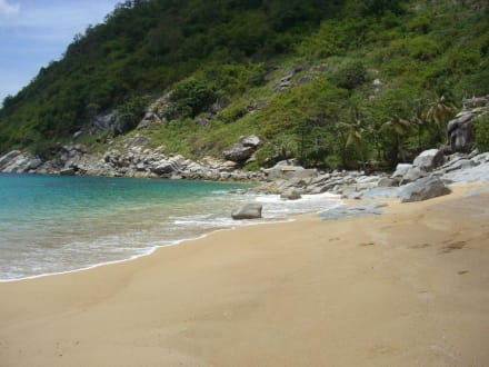 Total einsamer Strand... - Nui Beach