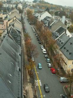 Blick vom Turm auf die Stadt - St. Annenkirche