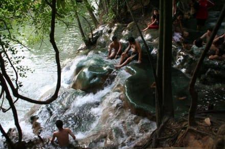 Heiße Quellen Krabi Thailand - Heiße Quellen