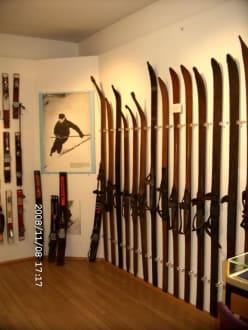 Rarität erste Ski aus Tschechien - Kleinmuseum Klösterle