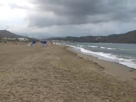 ein Strand fast noch ohne Touristenrummel - Bucht von Kalami