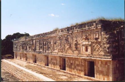 Uxmal - Ausgrabung Uxmal