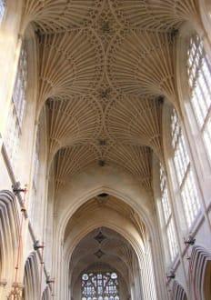 Hauptschiff - Anglikanische Kirche Bath Abbey