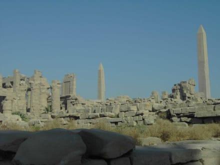 Anlage soweit das Auge reicht - Amonstempel Karnak