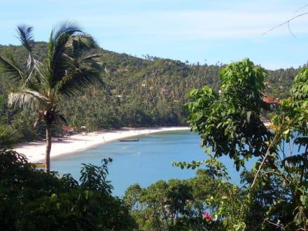 Ausblick - Thong Nai Pan Beach - Strand Thong Nai Pan Beach