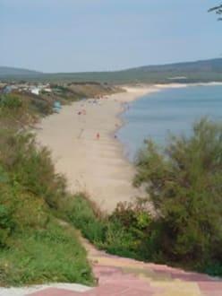 Der Nordstrand von Primorsko - Strand Primorsko