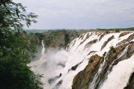 Ruacana Falls - Ruacanafälle