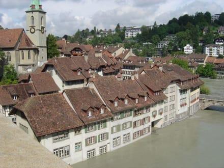 Hochwasser - Altstadt Bern