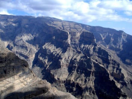 Der omanische Grand Canyon - Jebel Shams - Jabal Shams Berg