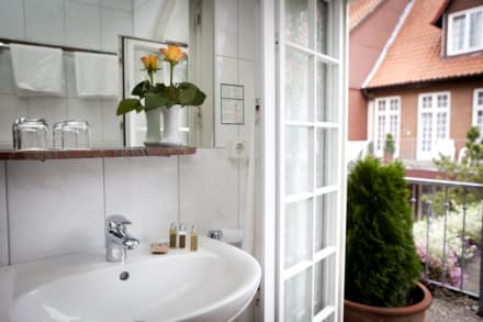 Badezimmer - Hotel Borchers