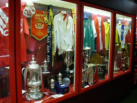 im Museum - Anfield Road