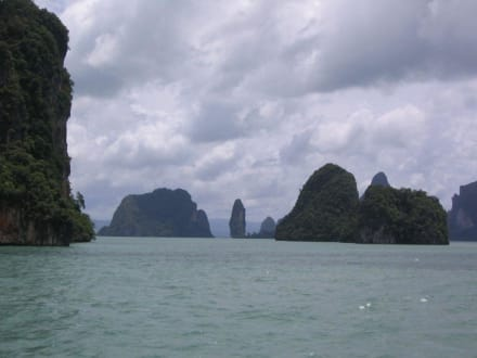 Schiffsfahrt durch den Phang-Nga - Phang Nga Bucht/Nationalpark Ao Phang Nga
